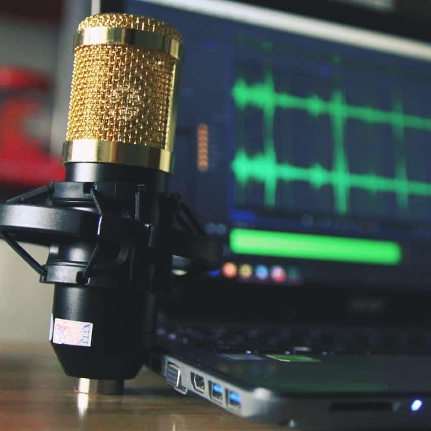 Mikrofon til Professionel spreak og voiceover