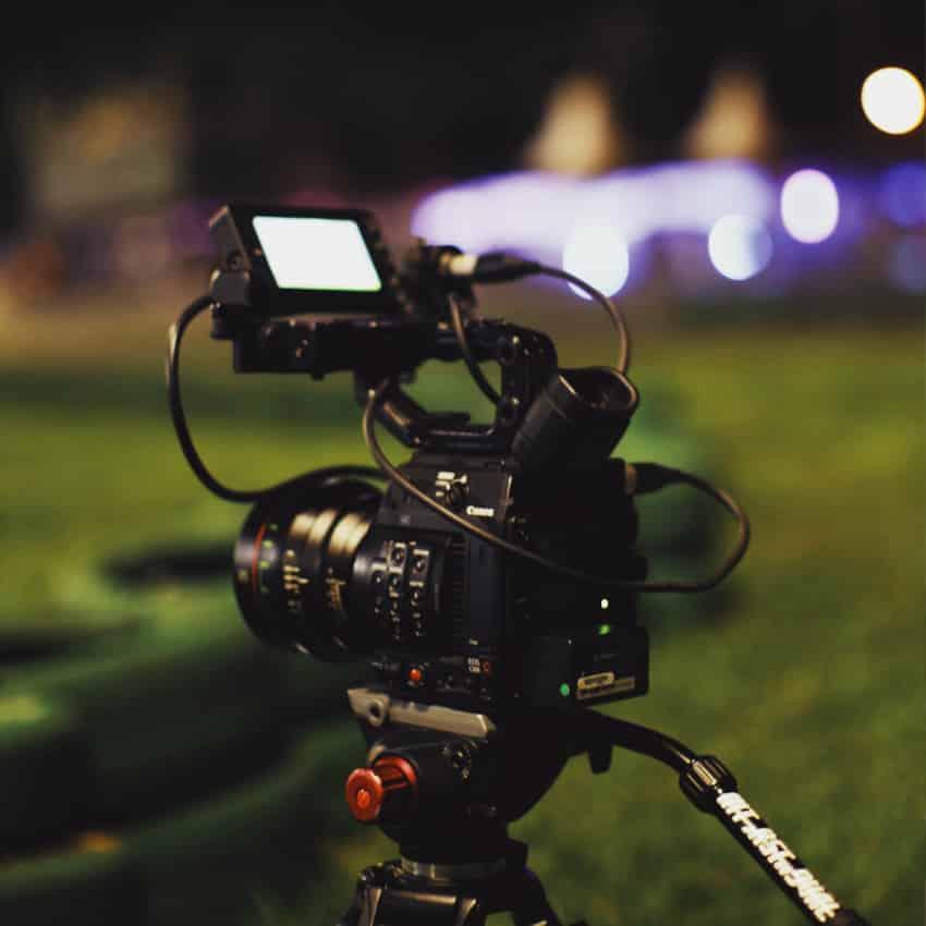 Videoproduktion med professionel fotograf